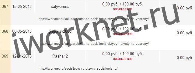 Количество рефералов на socialtools