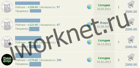 Ярмарка на seosprint - дорогие рефералы за 2000 рублей