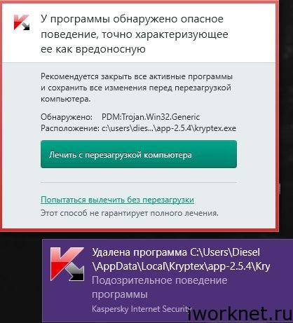 Криптекс вирус